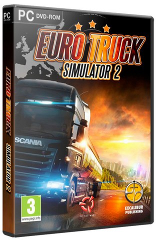 Euro Truck Simulator 2 [+ 27 DLC] (2013)