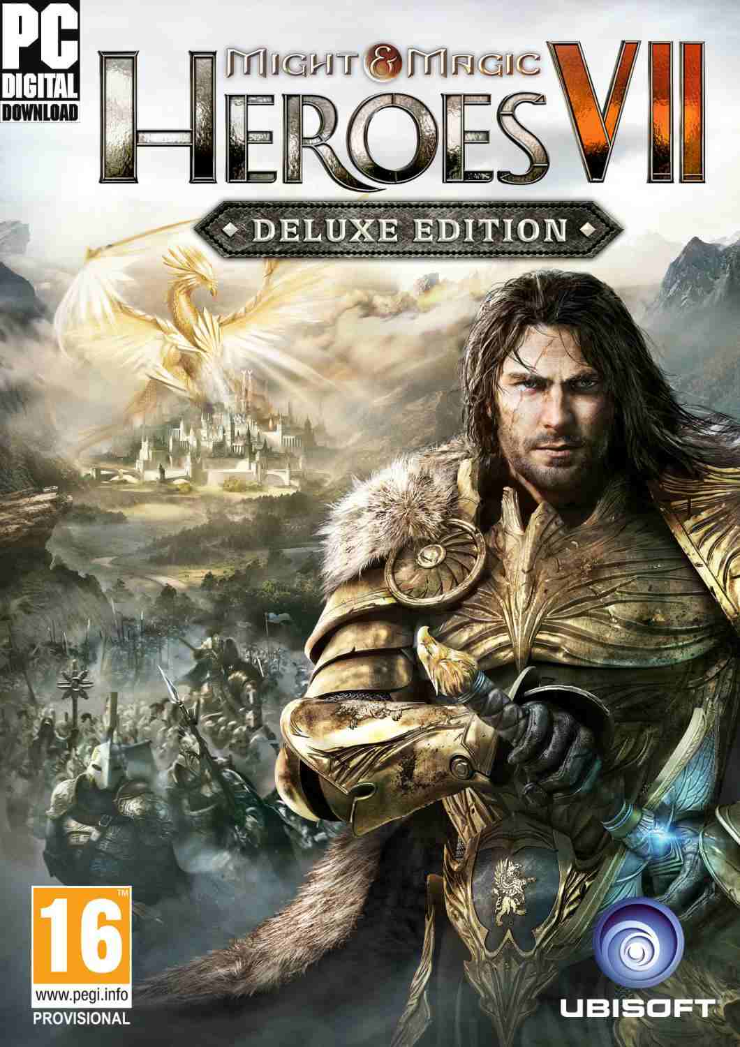 Герои меча и магии 7 / Might and Magic Heroes VII: Deluxe Edition [v 1.5](2015) PC