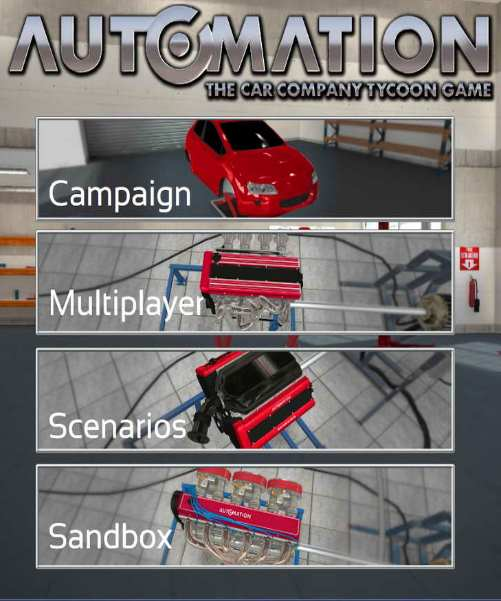 Automation The Car Company Tycoon Game (2015) [Eng]