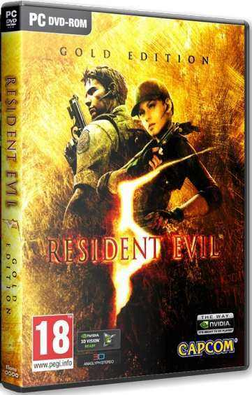 Resident Evil 5 Gold Edition [Update 1] (2015) PC | RePack by Mizantrop1337