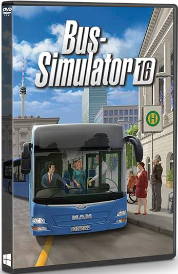 Bus Simulator 16 [Rus/Eng] (2016)