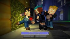 Minecraft: Story Mode: Episode 1-8